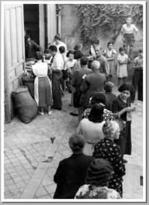 queue for bread ration Sept 1936