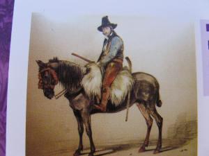 engraving of El Tempranillo 1834
